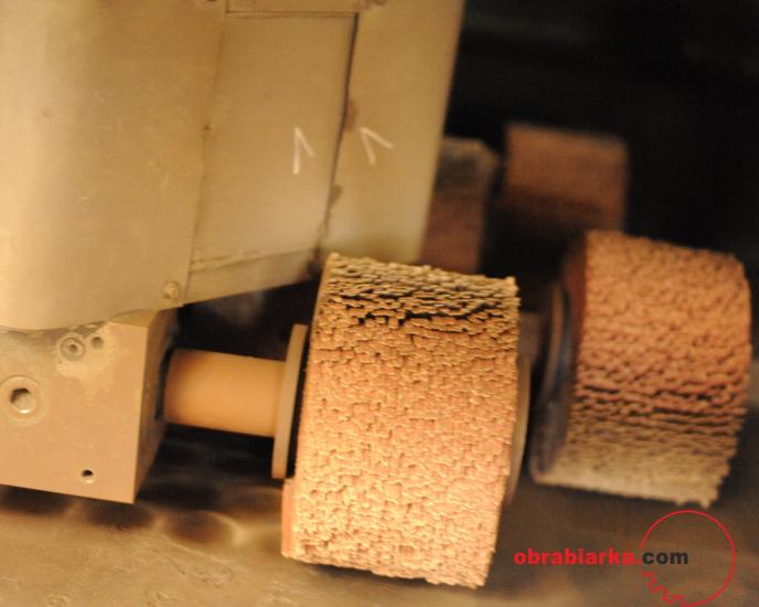 Szlifierka gratownica zaczyszczarka blach ERNST